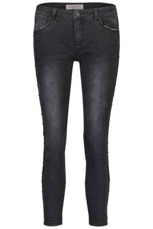 Bianco Pantalon Bianco HONEYSUCKLE-1218448 Black Denim