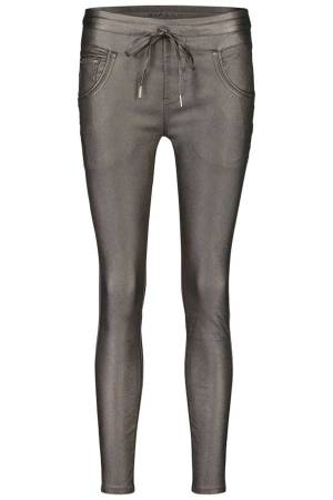 Bianco Pantalon Bianco SILVERBELL-1218113 Metalic Brown-69