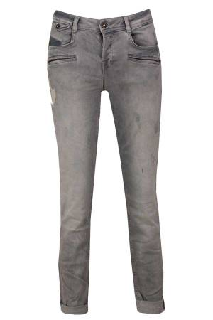 Summum Pantalon Summum 4s1562-10768BD Grey denim (824)