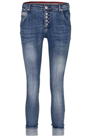 Bianco Pantalon Bianco 1118408-Amber.191 Denim Medium Blue