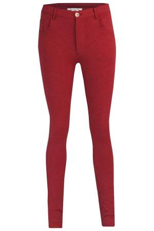 Sylver Pantalon Sylver 533-667 Bieke 560 Warm Red