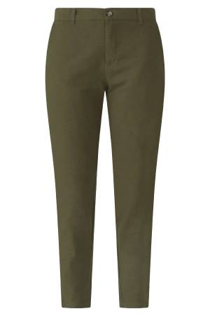 Free Quent Pantalon Free Quent 122577 FQALVILLE-PA-ANKLE Burnt Olive