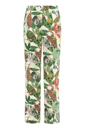 POM Amsterdam Pantalon POM Amsterdam SP6552 Jungle beats ecru