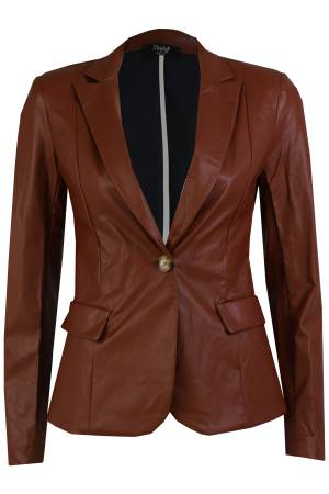 Maryley Blazer m Maryley GIACCA B188 54 COGNAC