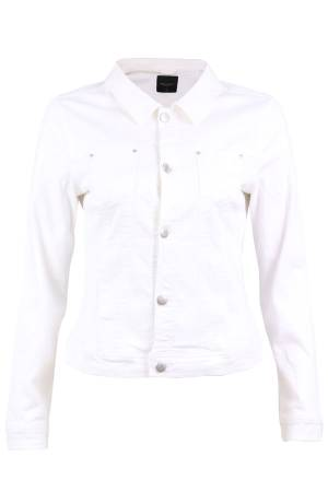 Free Quent Jeans Jacket Free Quent 117963 ALBA-JA-POWER Bright White