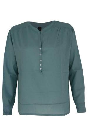 Penn&Ink Blouse lm Penn&Ink S18T030 Light jade