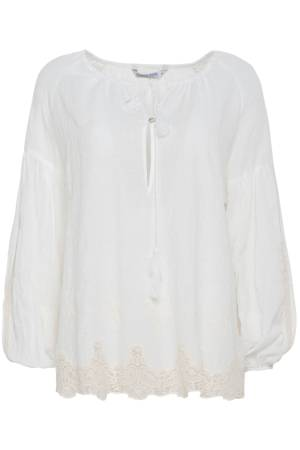 Summum Blouse lm Summum 2s2000-10501B Sugar (118)
