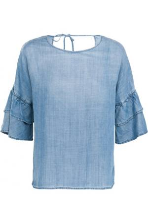 Summum Blouse lm Summum 2s1997-10526B Denim (453)