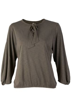 Summum Blouse lm Summum 3s4139-3927C Olive green (645)