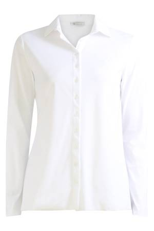 AW Essentials Blouse lm AW Essentials AW S18-4100.181 White