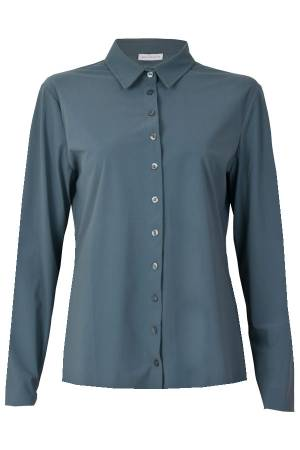 AW Essentials Blouse lm AW Essentials AW S18-4100.181 Greyisch green