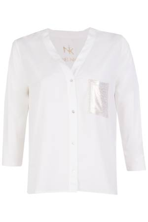 Label Nick plus value international Blouse lm Label Nick plus value international Paula Off White
