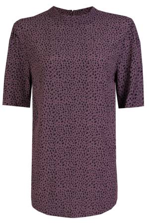 Circle of Trust Blouse lm Circle of Trust W18-43-4122 4122 Dark Lavender