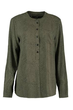 Circle of Trust Blouse lm Circle of Trust S19_59_8218 Dark Olive 8218