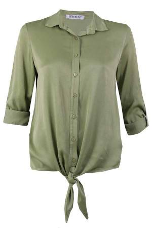 Transfer Blouse lm Transfer 9014200.191 073 olive green