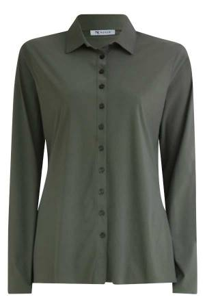 Nukus Blouse lm Nukus Willemijntje Army