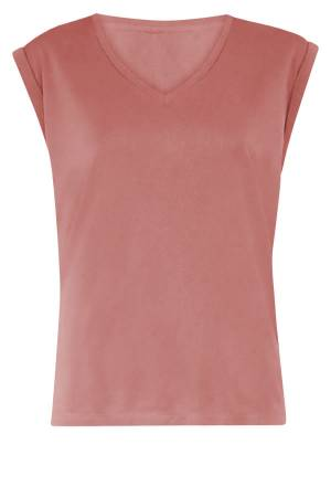 Simple Blouse lm Simple PHELINE TOP DUSTY ROSE
