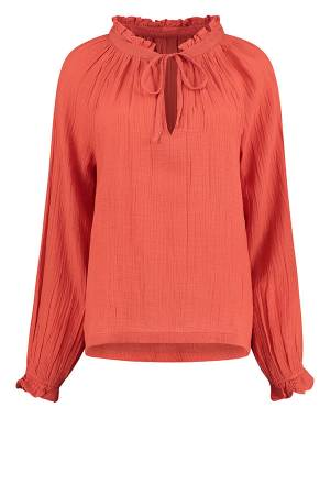 Circle of Trust Blouse lm Circle of Trust S21_94_ 2144 Chili