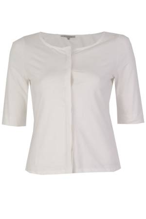 Sylver Blouse km Sylver 507-163A 011 Off White