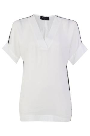 Free Quent Blouse km Free Quent 120313-TOPPA-BL bright white