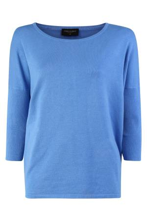 Free Quent Trui Free Quent FQJONE-PU Chambray blue