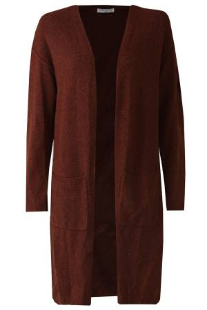 Circle of Trust W19_91 Nowy Cardigan Rusty brown 5377