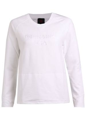 Penn&Ink Sweater Penn&Ink S19F472 White