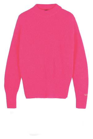 10 Days Sweater 10 Days 20-603-0204 1050 candy pink