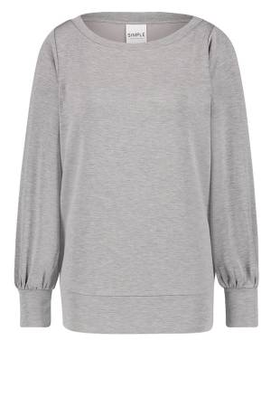 Simple Trui overig Simple PASCA GREY MELANGE
