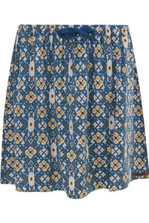 Moscow Rok k Moscow SP19-25.04 Print Bombay blue