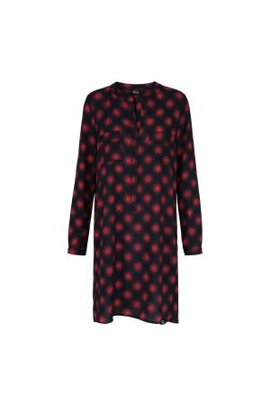 &Co Woman Jurk l &Co Woman MC0438-L Red multi