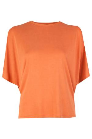 Summum T-shirt Summum 3s4146-3949 Burned orange (260)