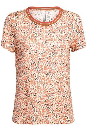 Summum T-shirt Summum 3s4383-30138 736 Faded almond
