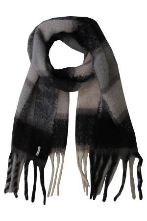 Circle of Trust W19_81 Amy Scarf Black iris 7421
