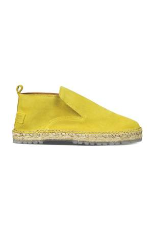 Shabbies Schoenen Shabbies 152020007 Dark Mustard Yellow